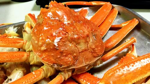 クリスマスイブの蟹さま
