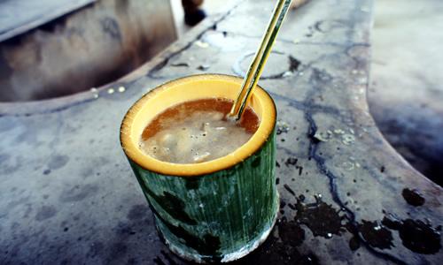 失敗気味の竹みそ汁