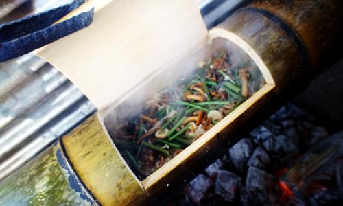 竹飯盒OPEN
