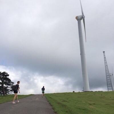 大峯山の風車