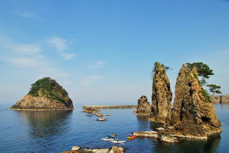 隠岐の島シーカヤック
