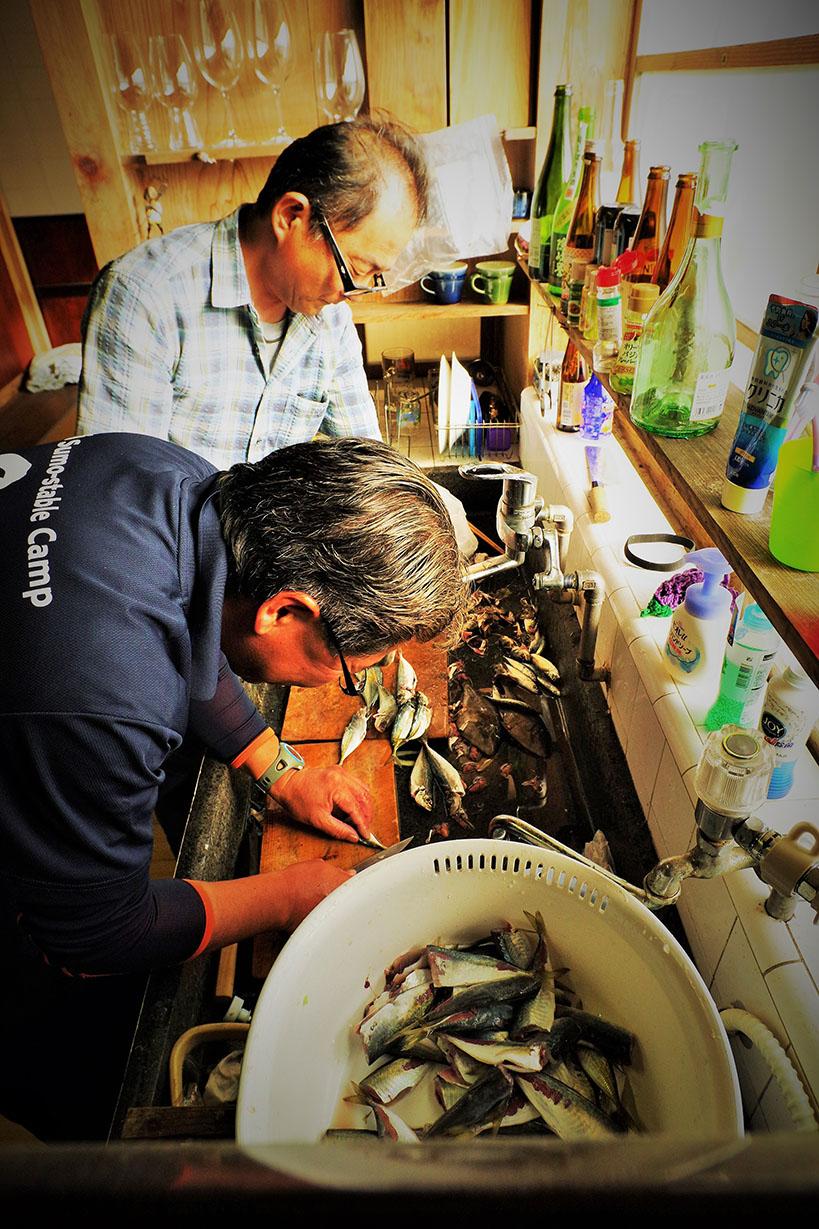魚捌き大会